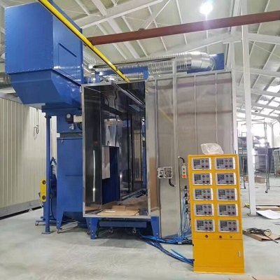 30 Sets Automatic Powder Coating Equipment Installed in South Korea
