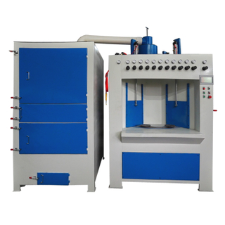 Rotating Table Automatic Batch Sandblasting Machine