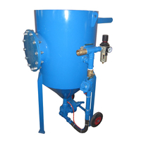 200 Litre Pressure Sandblasting Pot, Portable Blasting Pot for Sale