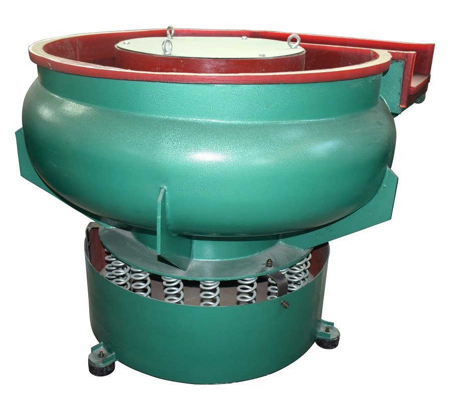 350L Round Bowl Vibratory Finishing Machine