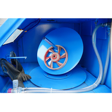 Turntable Wet Sand Blasting Cabinet for Wheel & Rim